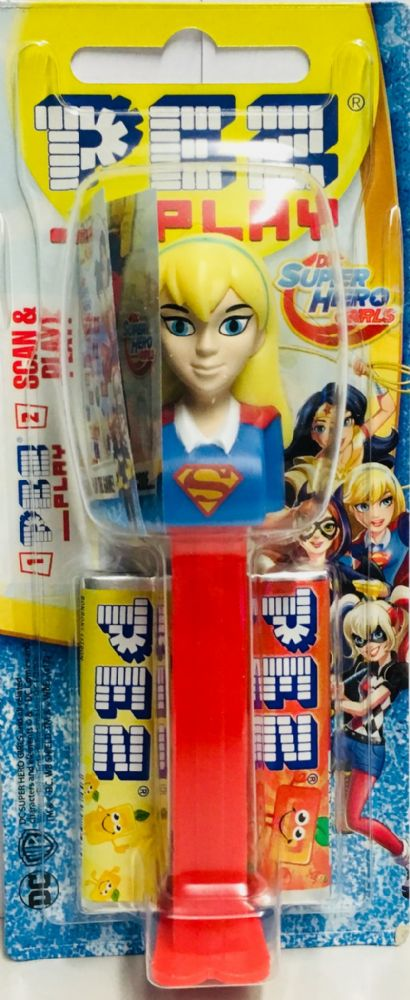 PEZ06  DC SUPER HERO GIRLS x12